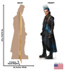 Hades - Disney's Descendants 3 Cardboard Cutout Front and Back View