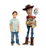 Woody and Forky Cardboard Cutout from Toy Story 4 Lifesize