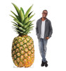 Life-size cardboard standee of a Pineapple Lifesize