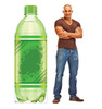 Life-size cardboard standee of a Soda Pop Bottle Lifesize