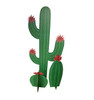 Life-size cardboard standee of a Cactus Grouping Front View