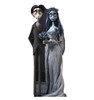 Life-size cardboard standee of The Corpse Bride and Groom.