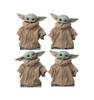 Life-size cardboard standee of THE CHILD fromThe Mandalorian. Set of 4.