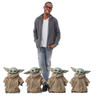 Life-size cardboard standee of THE CHILD fromThe Mandalorian with Model. Set of 4.