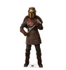 Life-size cardboard standee of The Armorer  from The Mandalorian.