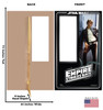 Life-size cardboard standin of Han Solo Packaging. Celebrating 40 years, with front and back dimensions.