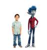 Life-size cardboard standee of Ian from Disney/Pixar's film Onward with model.