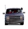 Life-size cardboard standee of Ian and Barley in Van from Disney/Pixar's film Onward.