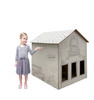 Life-size Color Me School House with model.