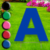 Yard Sign Letter A