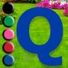 Letter Q yard sign