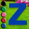 Letter Z yard sign