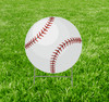 Coroplast outdoor yard sign icon of a softball.