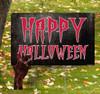 Coroplast outdoor Halloween Hand 3 Yard Sign.