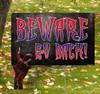 Coroplast outdoor Halloween Hand 4 Yard Sign.