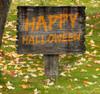 Coroplast outdoor Happy Halloween Yard Sign 1.