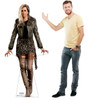 The Cheetah cardboard standee from the movie Wonder Woman 1984 with model.
