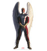 Life-size cardboard standee of Angel from Marvels Timeless Collection.