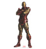 Life-size cardboard standee of Iron Man from Marvels Timeless Collection.