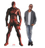 Life-size cardboard standee of Daredevil from Marvels Timeless Collection with model.