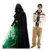 Life-size cardboard standee of Luke Skywalker from the Mandalorian season 2 with model.