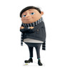 Life-size cardboard standee of Young Gru from the new movie Minions Rise of Gru.