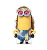 Life-size cardboard standee of Kevin Hippie from the new movie Minions Rise of Gru.
