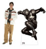 Life-size cardboard standee of Agent Venom from Marvel Classics with model.