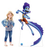 Life-size cardboard standee of Alberto Sea Monster with model.