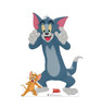 Life-size cardboard standee of Tom & Jerry from Tom & Jerry movie.