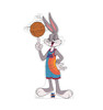 Life-size cardboard standee of Bugs Bunny from Space Jam A New Legacy.