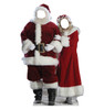 Mr. and Mrs. Claus Stand ins