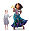 Life-size cardboard standee of Mirabel with Butterfly from the Disney's movie Encanto with model.