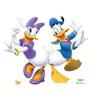 Life-size Donald Duck & Daisy Dancing Cardboard Standup | Cardboard Cutout