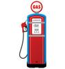 Life-size Gas Pump Cardboard Standup | Cardboard Cutout