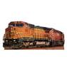 Life-size BNSF 526 train Cardboard Standup   Cardboard Cutout