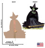 Life-size The Wicked Witch Melting Cardboard Standup   Cardboard Cutout