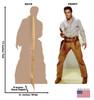 Elvis Gunfighter - Talking - Cardboard Cutout 838T