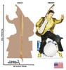 Elvis Presley Drums - Cardboard Cutout 499