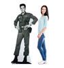Elvis - Army Fatigues - Cardboard Cutout 382