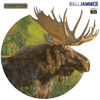 Life-size Moose WallJammer Wall Decal