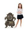 Life-size Cogsworth (Disney's Beauty and the Beast) Cardboard Standup | Cardboard Cutout
