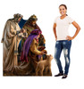 Three Wise Men Cardboard Cutout - Illustrated by Dona Gelsinger 2182