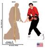 Elvis Presley TALKING Cardboard Cutout 376T