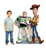 Life-size Buzz and Woody Cardboard Standup | Cardboard Cutout with Model