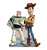 Life-size Buzz and Woody Cardboard Standup | Cardboard Cutout
