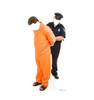 Life-size Inmate and Police Officer Stand-in Cardboard Standup   Cardboard Cutout 3