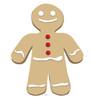Ginger Bread Man Cardboard Cutout