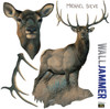 Life-size Elk WallJammer Wall Decal