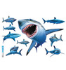 Life-size Sharks Wall Decal